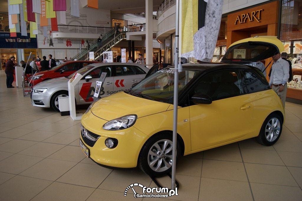 Opel Adam, Car Show Manufaktura 2013