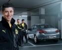 Opel Astra w wersji Active, Robert Lewandowski, Jakub Błaszczykowski i Łukasz Piszczek