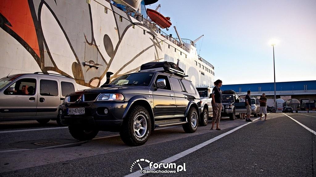 Pajero Owners Club wyrusza na Korsykę, 4