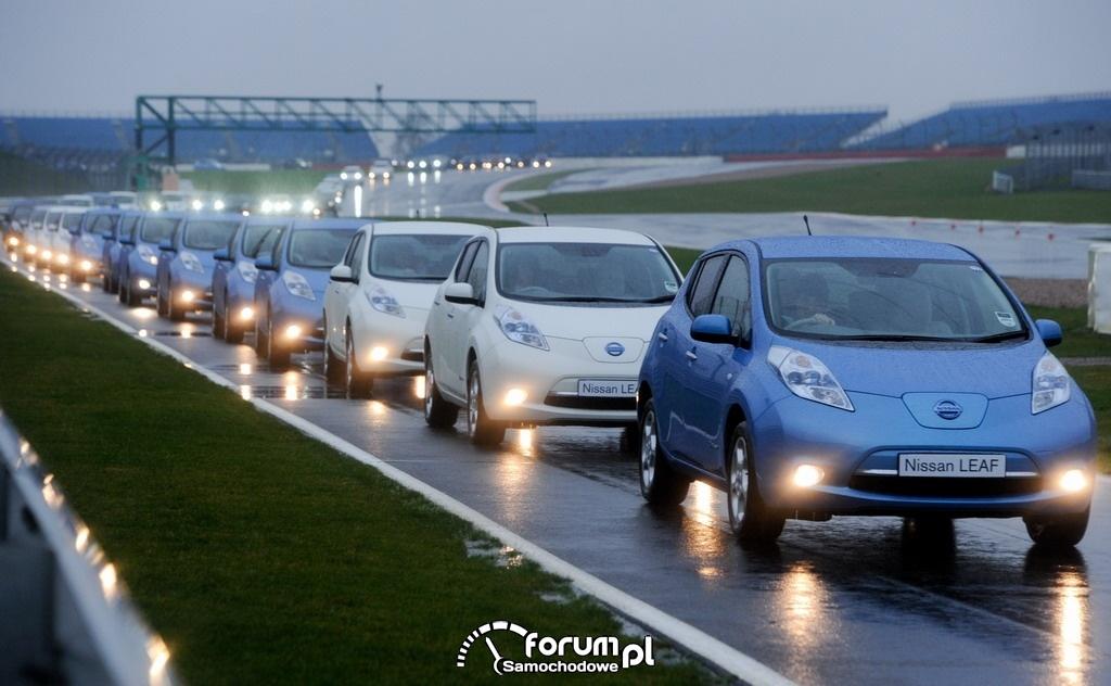 Największa parada pojazdów elektrycznych