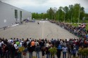 Pokazy akrobatycznej jazdy na motocyklach