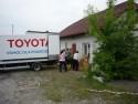 Pomoc dla powodzian - TOYOTA