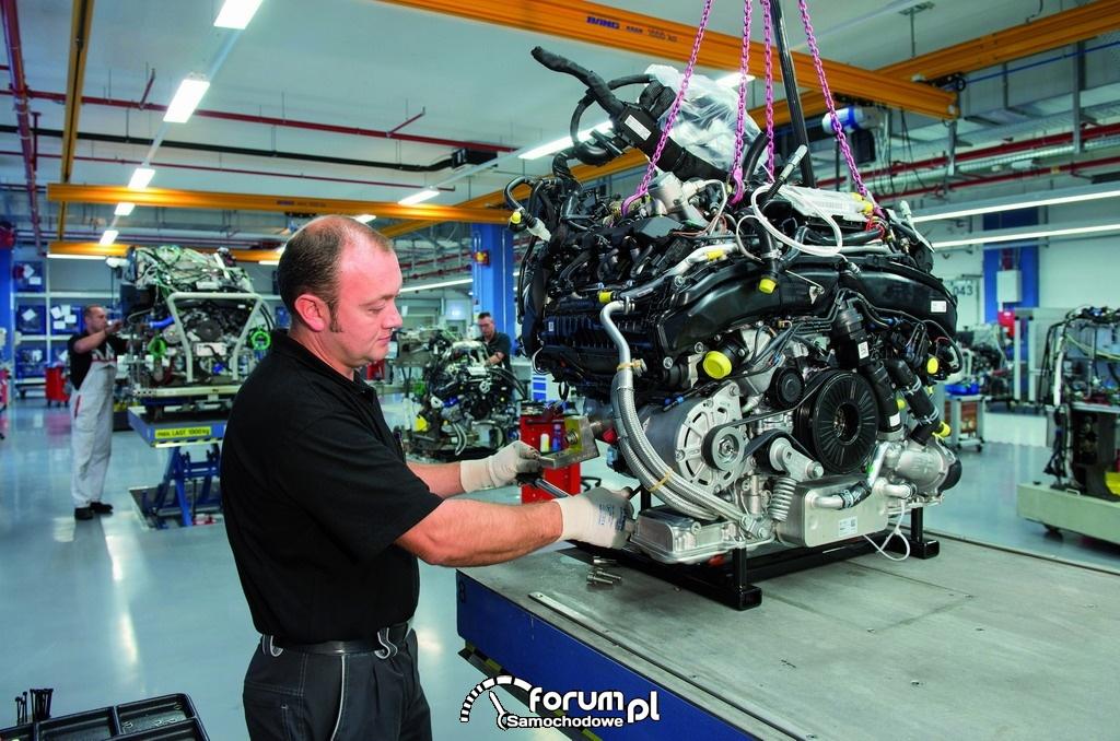 Centrum Testowania Silników Audi w Neckarsulm