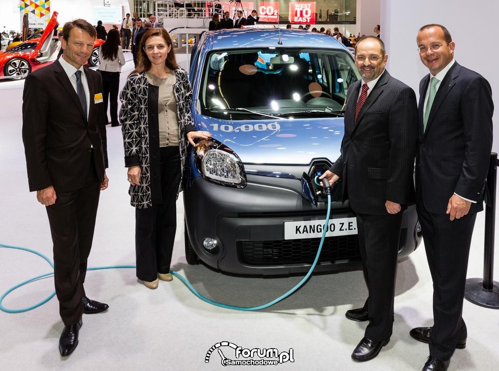 Renault Kangoo Z.E. - 10tyś. sprzedanych egzemplarzy