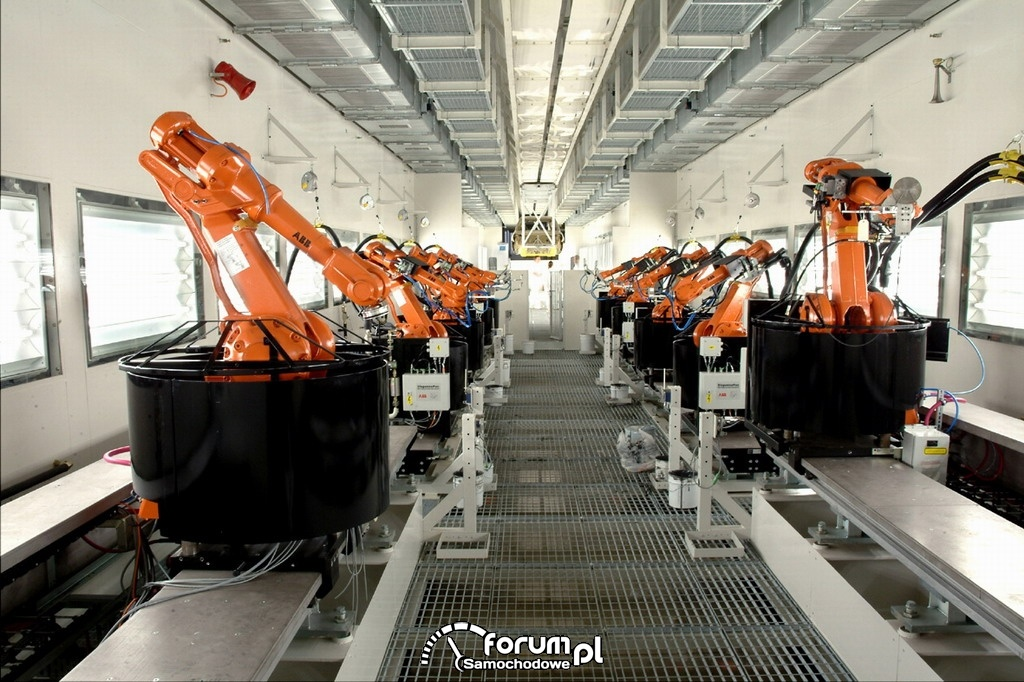 Roboty, Fabryka KIA - Żylina, Słowacja