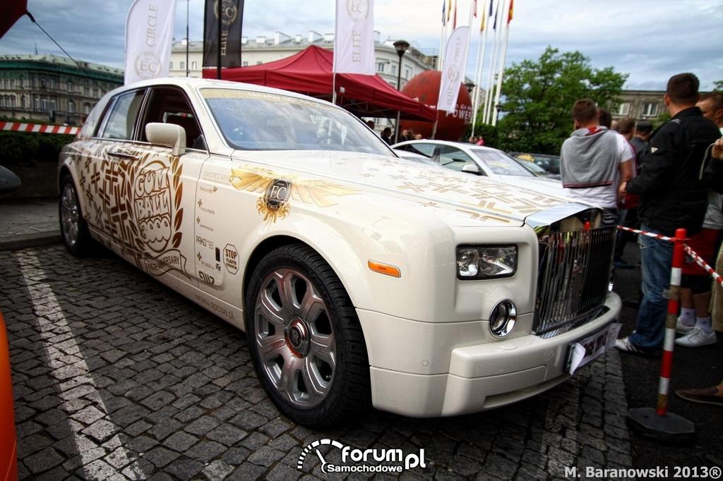 Rolls-Royce Phantom, Gumball 3000, Warszawa