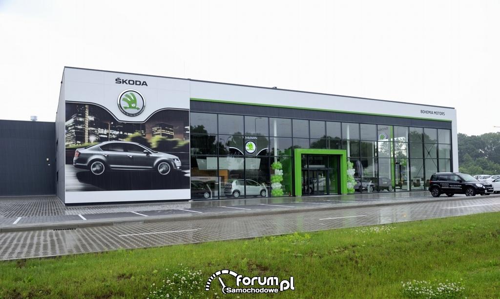 Salon Bohemia Motors w Warszawie, Salon Skoda