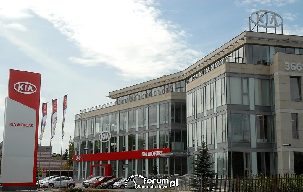 Siedziba Kia Motors Polska