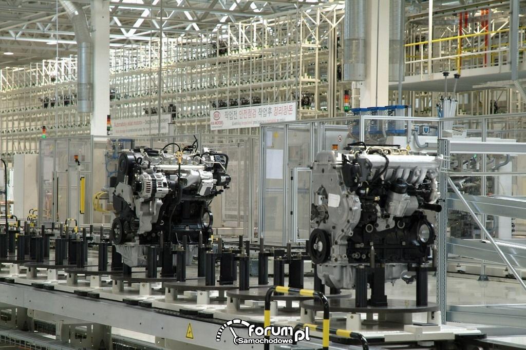 Silniki, Fabryka KIA - Żylina, Słowacja
