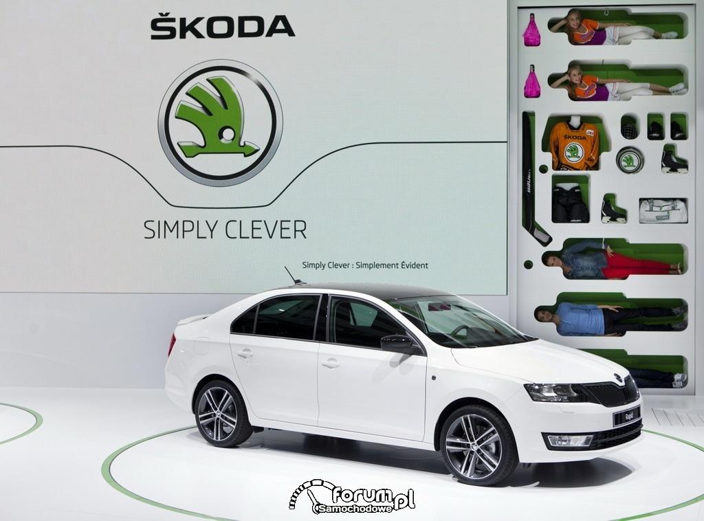 Skoda Rapid prezentacja nowego modelu w Paryżu 2012, 2