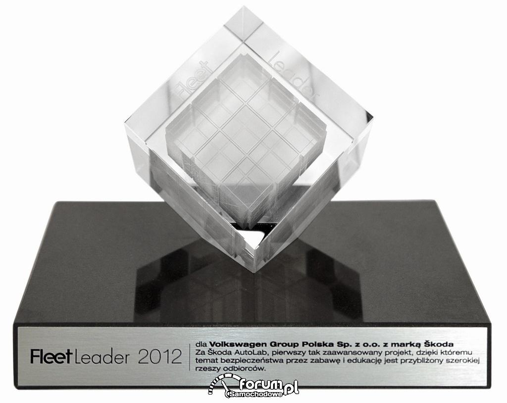 Statuetka - Fleet Leader 2012