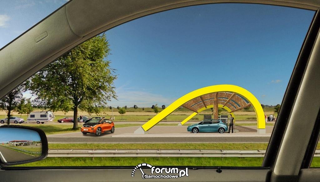 Szybkie ładowarki do samochodów elektrycznych w Holandii - projekt