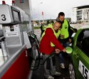 Tankowanie auta, Skoda Economy Run 2013