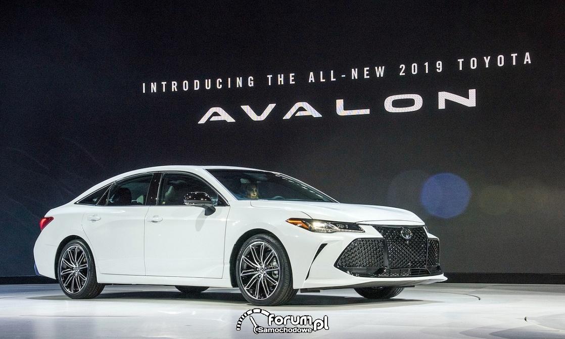 Toyota Avalon, Auto Show Detroit 2018