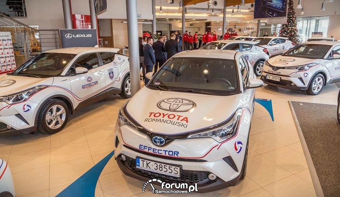 Toyota C-HR dla kluby Effector Kielce
