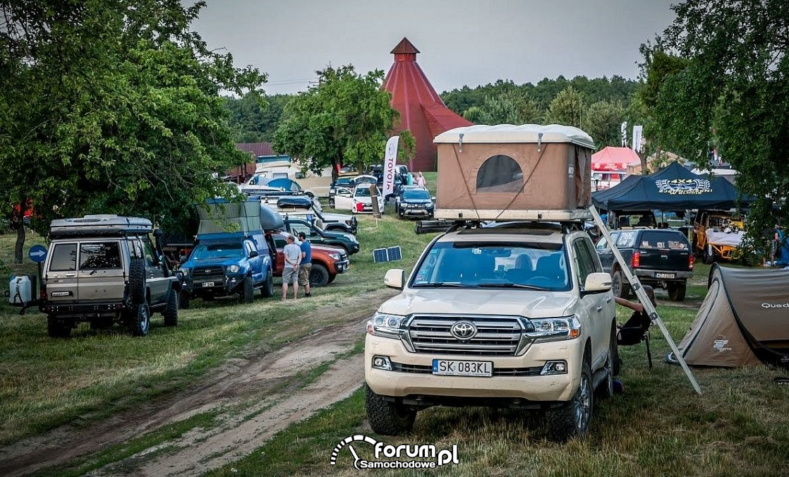 Toyota Off-Road Festival, Land Cruiser