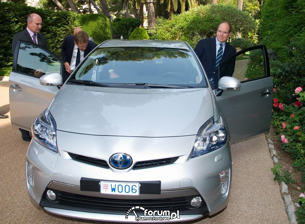 Toyota Prius Plug In Hybrid dla Księcia Monaco, 2