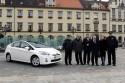 Toyota Prius  w ramach projektu - Wrocław dla klimatu