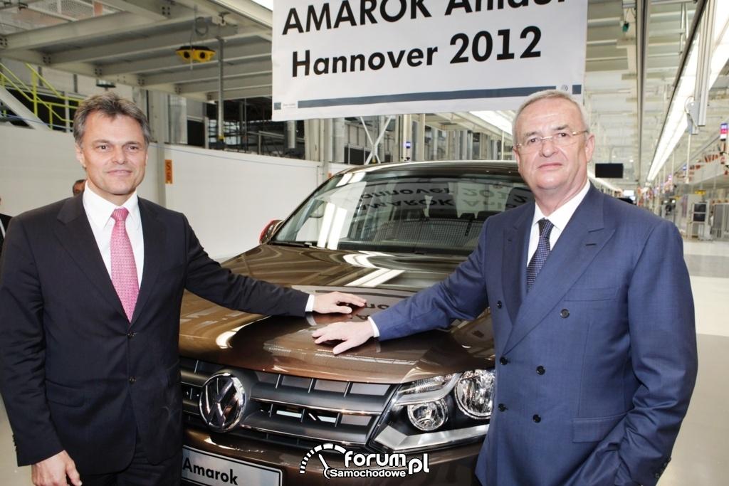 Volkswagen Amarok - produkcja  Hannover 2012