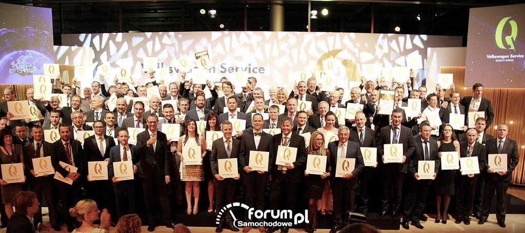 Volkswagen Service Quality Award 2014