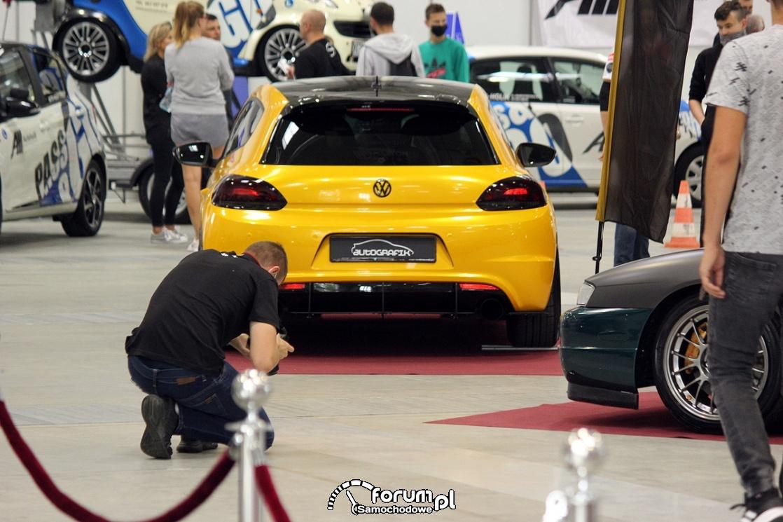 VW Scirocco, fotograf