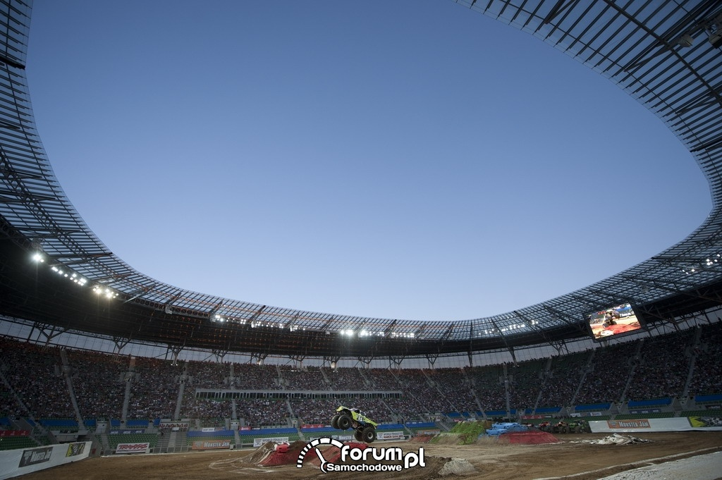 Widok stadionu - Monster Jam 2011