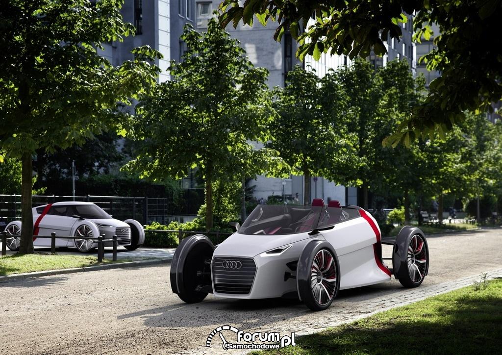 Audi museum mobile - mobilność jutra