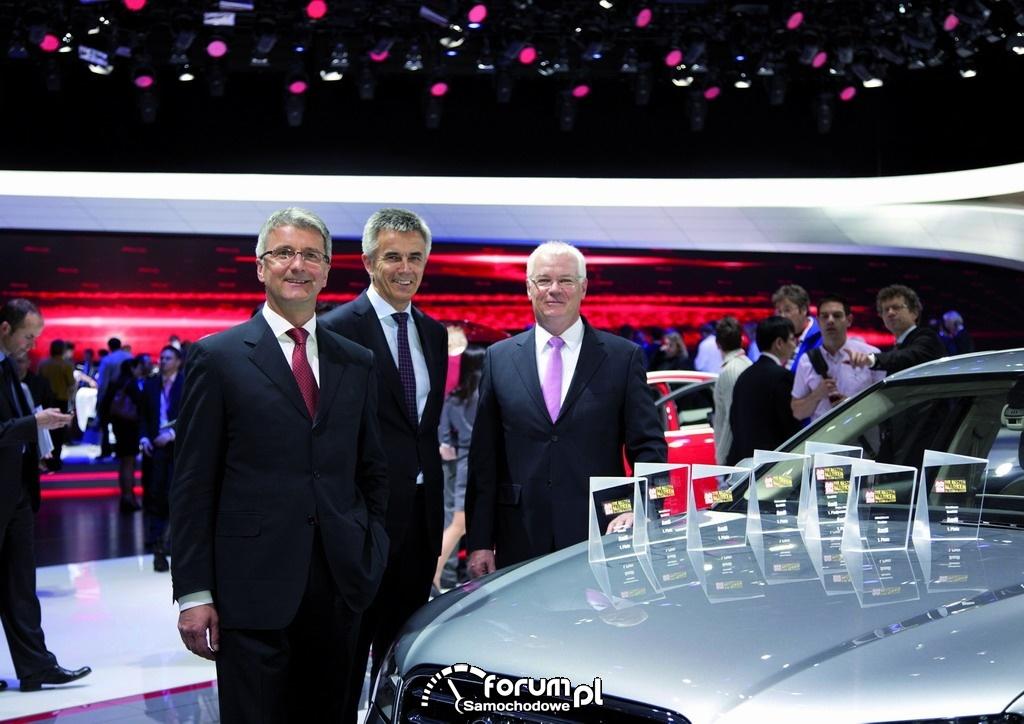 Wyróżnienia dla Audi w marcu 2012
