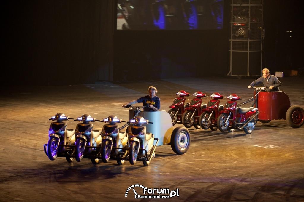Wyścigi rydwanów zbudowanych na bazie skuterów, Top Gear Live