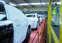 Zielony Pociąg Audi, nowe samochody przygotowane do transportu