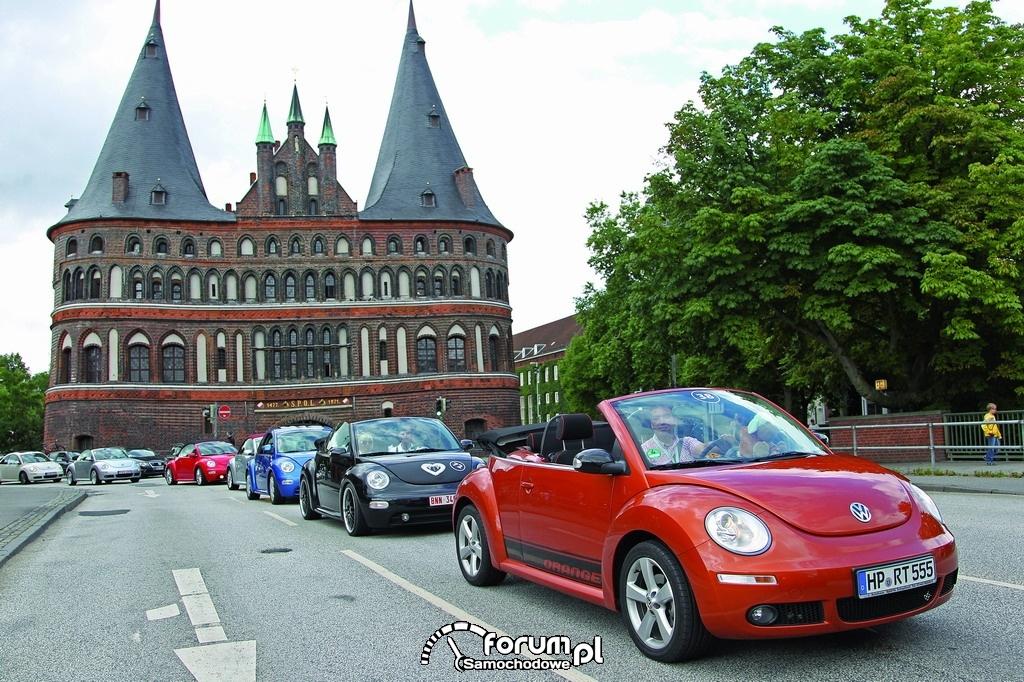 Zlot fanów VW Beetle w Travemunde