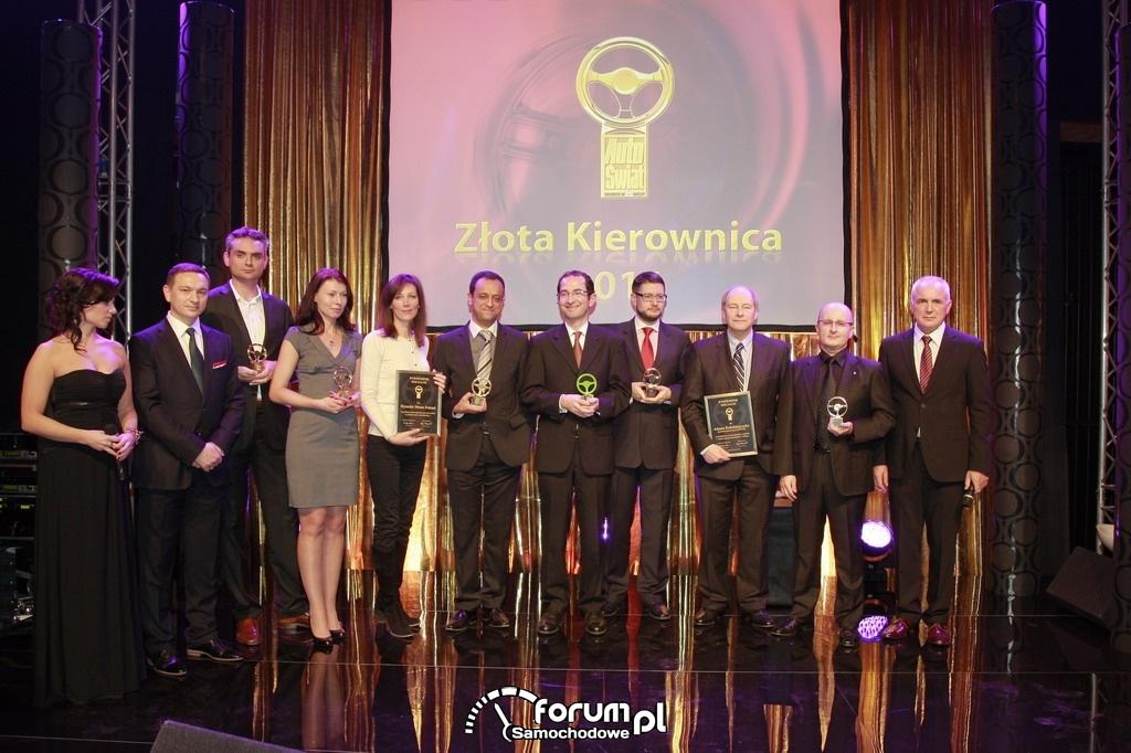 Złota Kierownica 2011 - laureaci