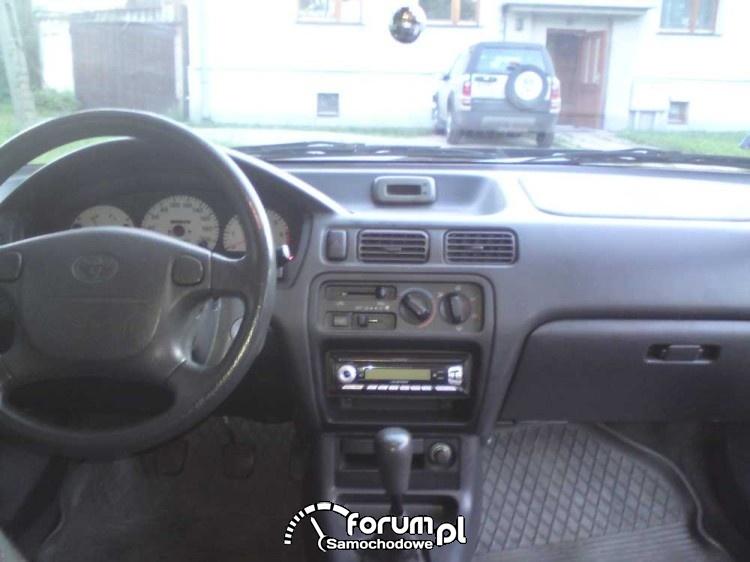 Toyota Coupe, wnętrze