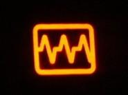 Kontrolka awarii elektroniki silnika