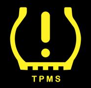 Kontrolka niskiego ciśnienia w oponach TPMS