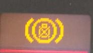 Kontrolka spalonej żarówki stop-u