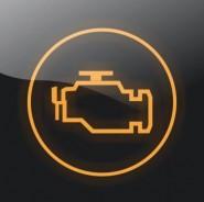 Kontrolka układu sterowania silnika