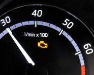 Lampka ostrzegawcza kontroli emisji spalin